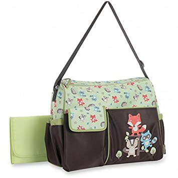 5363ee2851482 Buy Baby Boom Woodland Duffle Diaper Bag Online at Low Prices in India -  Amazon.in