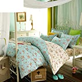 American Country Style Quilt cover/Cotton/Plant Floral Pattern Quilt cover-G 220240cm(87x94inch)