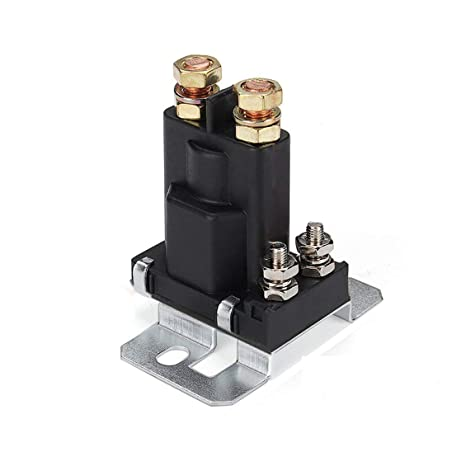 Electrical Equipment & Supplies Dual Battery Isolator Relay Start On/Off 4 Pin 500A 12V For Car Power Switch