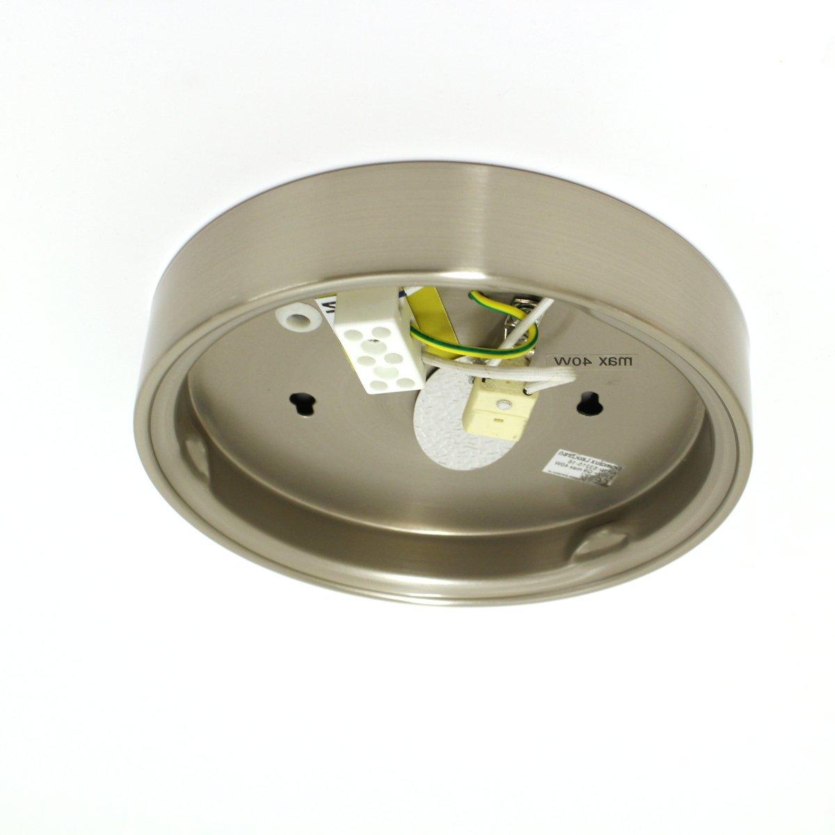 LUX de lámpara LED Lámpara de techo plafón Aki Cristal ...