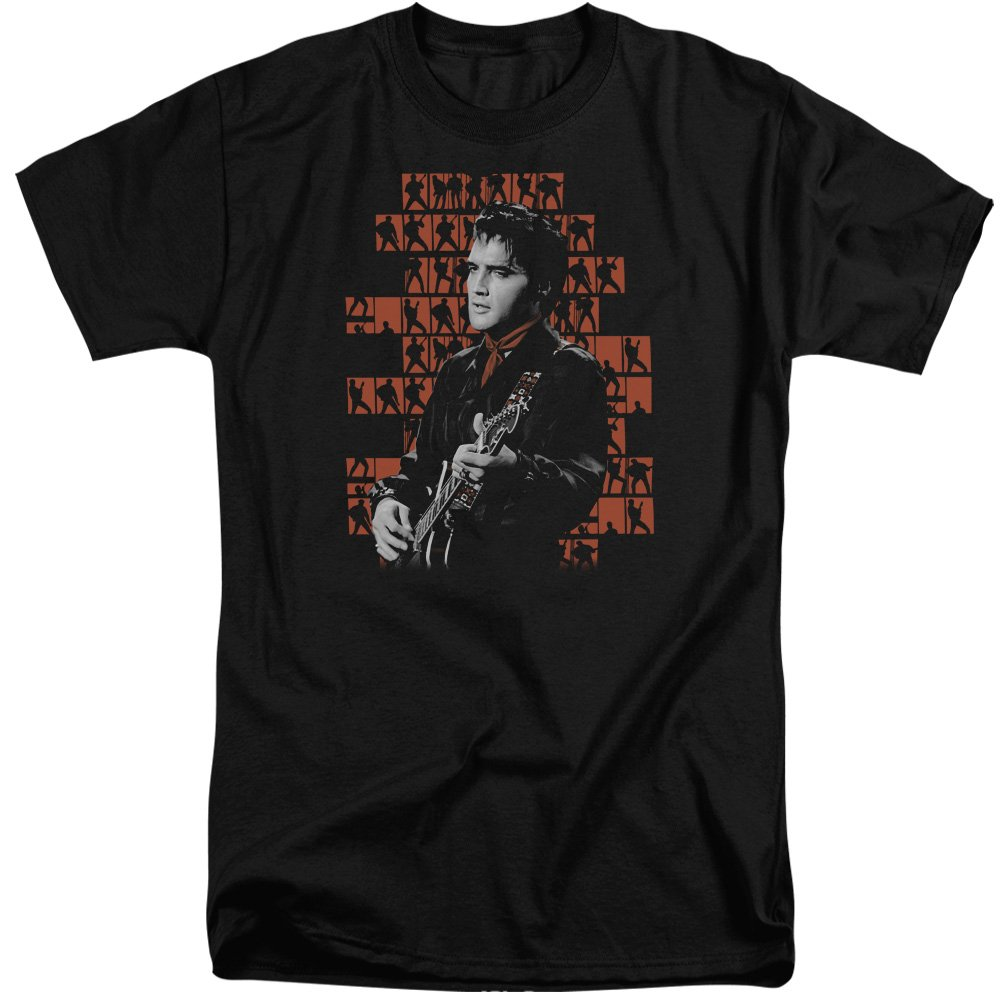 Elvis Presley Tall T Shirt Poses Tee 5747