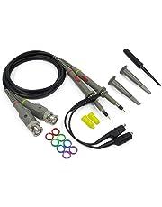 Chartsea HP Tektronix 2 x 100MHz Oscilloscope Scope Analyzer Clip Probe Test Leads kit (Black)