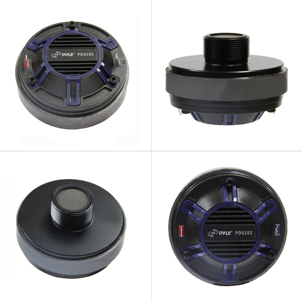 Pyle-Pro PDS182 Compression Driver 1.35 inch Vc Ferrite Magnet