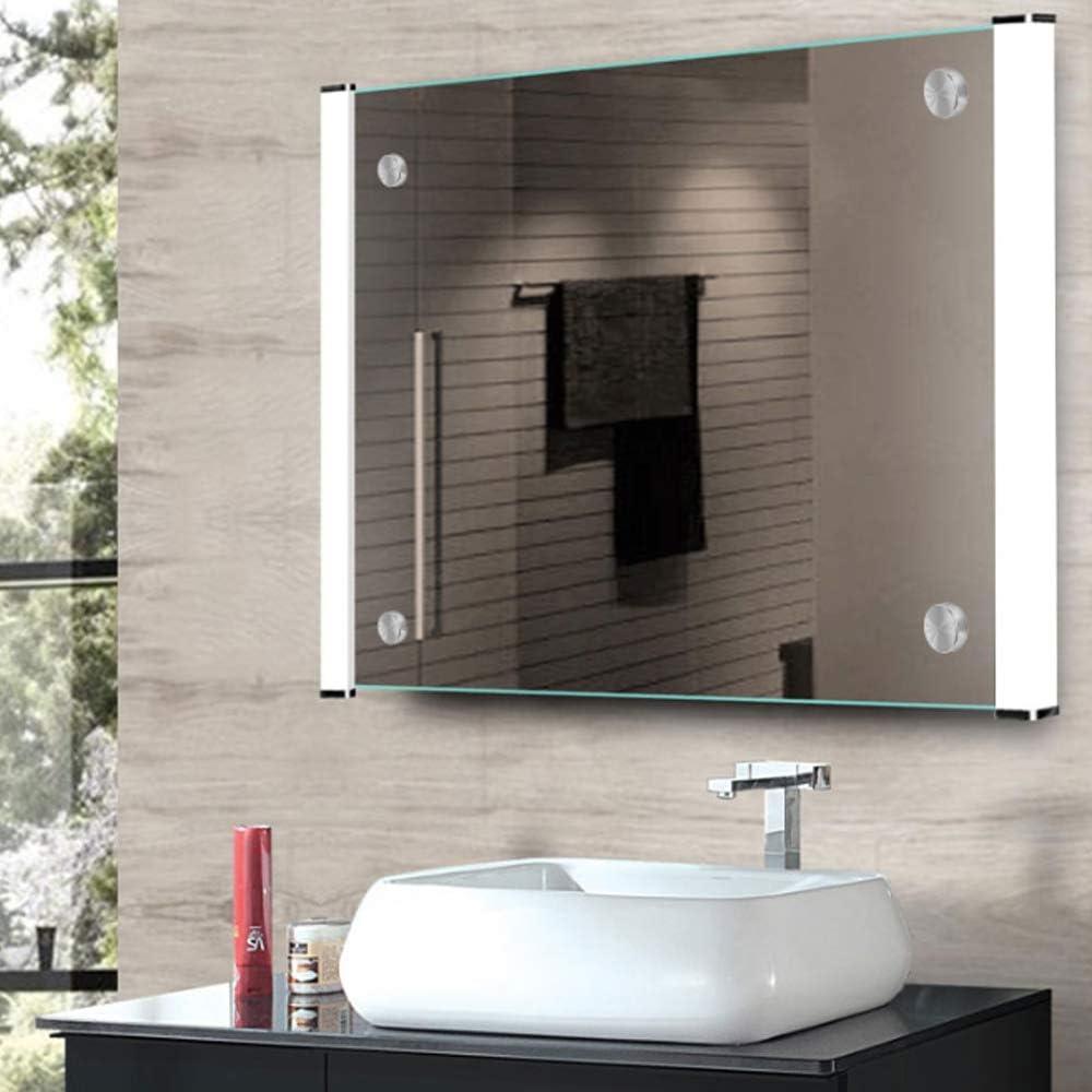 Schr/änken YUE QIN 4 St/ück Spiegelschrauben Messingkappe Spiegelnagel mit Dekorativ Kappen Durchmesser 25 mm,Weit verbreitet in Spiegeln Glasschildern Schildern
