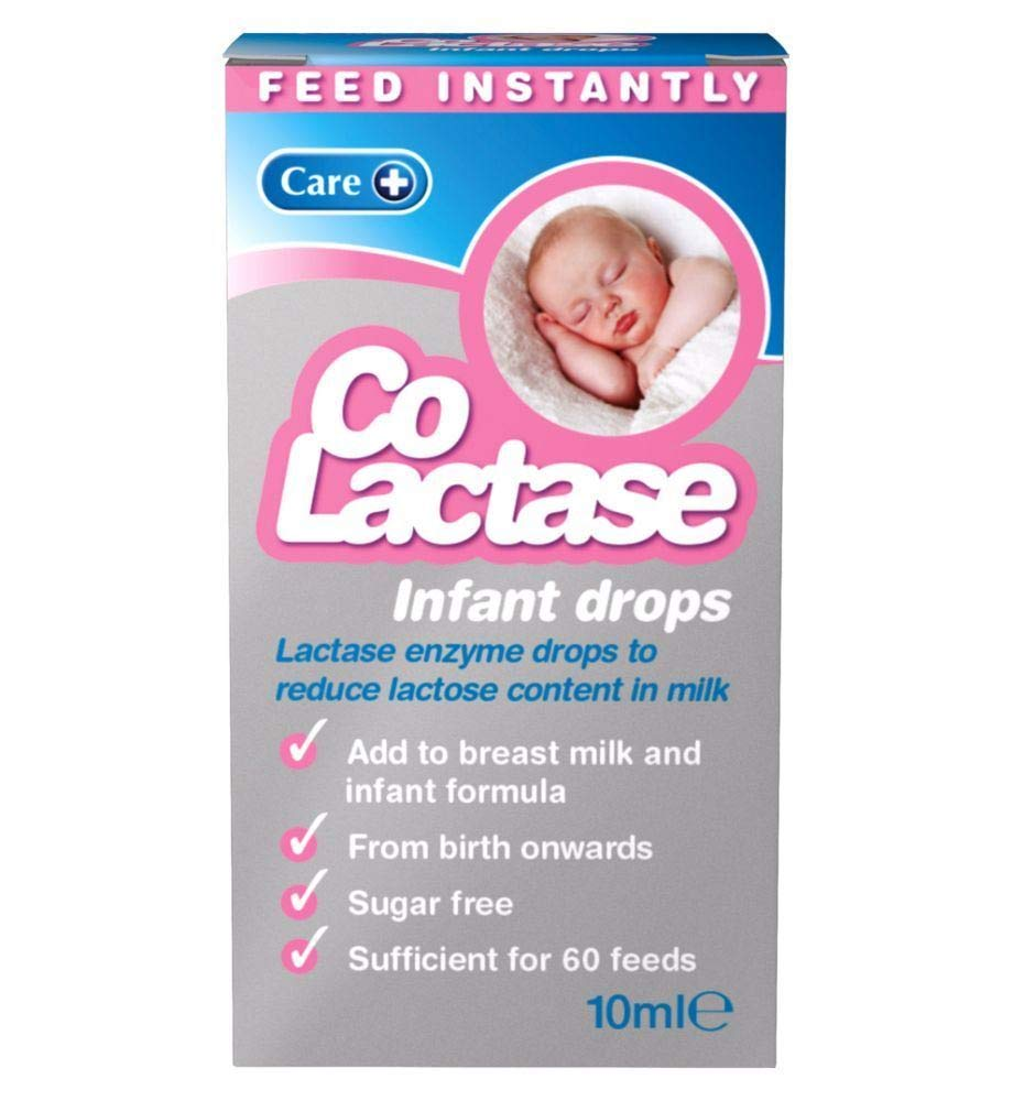 Care Co-Lactase Infant Drops - 10ml - 6 Pack by Care