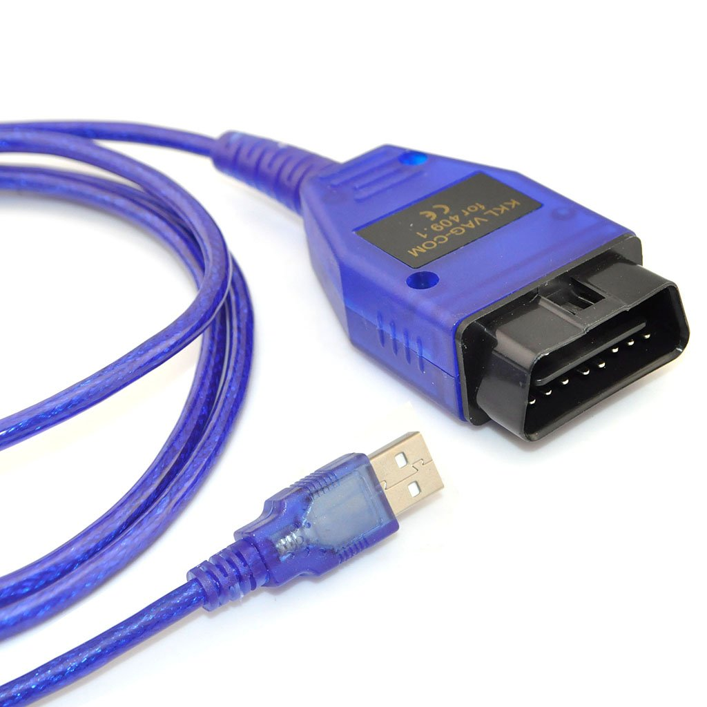 iKKEGOL KKL VAG-COM 409.1 USB ODB2 ODB II Cable Car Auto Diagnostic Tool Audi VW AUDI Volks