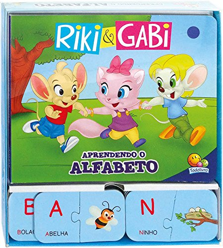 Riki & Gabi em...aprendendo o alfabeto