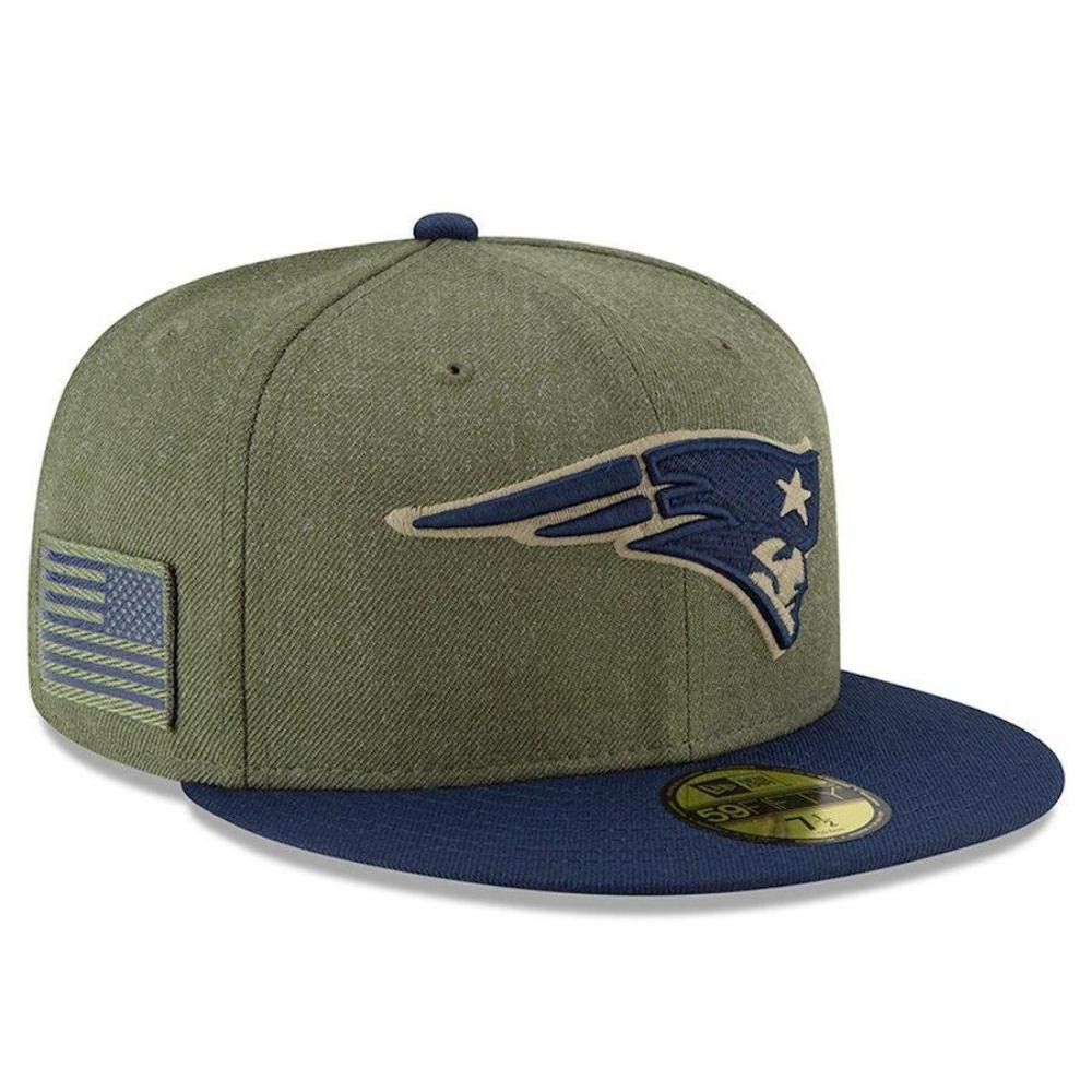 New Era Carolina Panthers on Field 18 Salute to Service Cap 59fifty 5950 Fitted Limited Edition