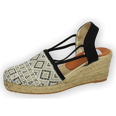 TORRES 5005 VALENCIANAS Tribeca Mujer Alpargatas Negro 40: Amazon.es: Zapatos y complementos