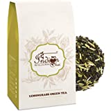 The Indian Chai - Organic Lemongrass Green Tea 100g | Detox Tea | Helps Digestion & Controls Cholesterol | Supports Weight Loss | Nitrogen Filled, Vacuum Sealed for Freshness |