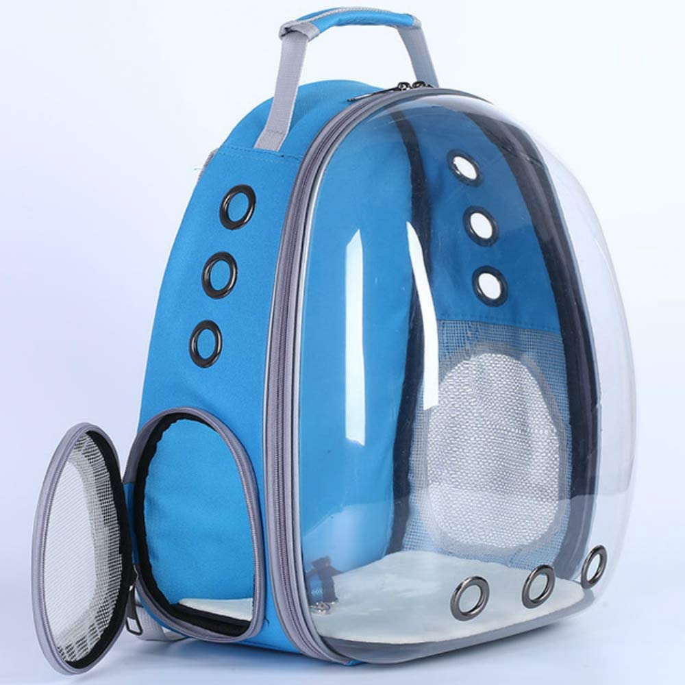 AILYRA Astronauta Space Capsule Transpirable para Coche, Bicicleta, Ventana, Burbuja, Gato, Perro, Bolsa de Transporte Transparente para Mascotas: Amazon.es: Productos para mascotas