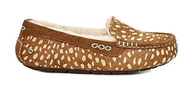 UGG Womens Ansley Idyllwild Slipper, Chestnut, Size 5