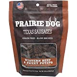 Prairie Dog Pet Products Western Beef & Sweet Potato, Texas Sausages 16Oz