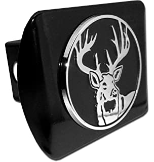 1.25 Graphics and More Deer in The Woods Oval Tow Hitch Cover Trailer Plug Insert 1 1//4 inch