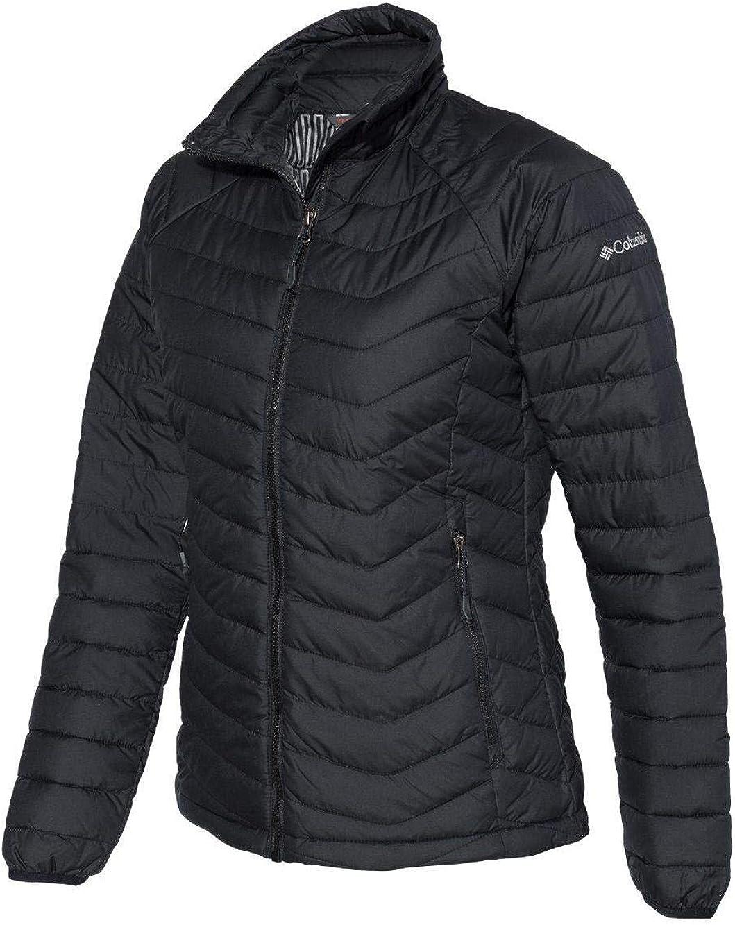 Black Medium Columbia Oyanta Trail Insulated Puffer Jacket