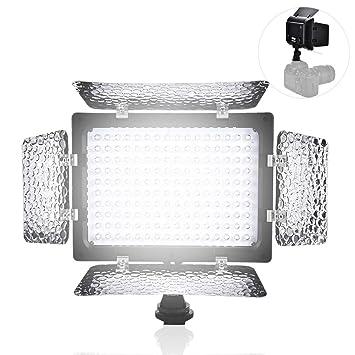 Topiky W160 Fotografía de Video Panel de lámpara de Luz 6000K LED ...