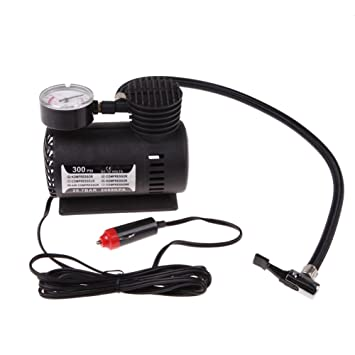 Compresor Bomba de aire eléctrica Inflador de neumaticos Herramientas de jardin