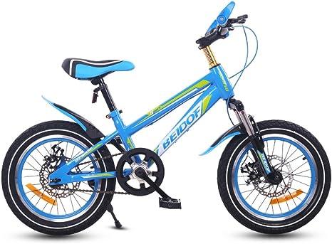 Bicicleta para niños, 16/18/20 pulgadas Niño 7/8/10/12 años de ...