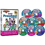 8 DVD Preschool Collection by Rock 'N Learn