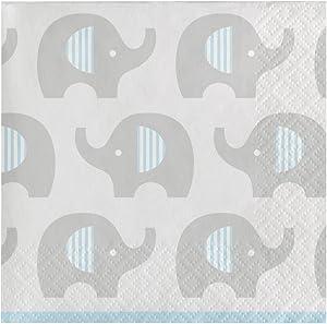 Creative Converting Little Peanut Boy Party Cute Elephant Napkins