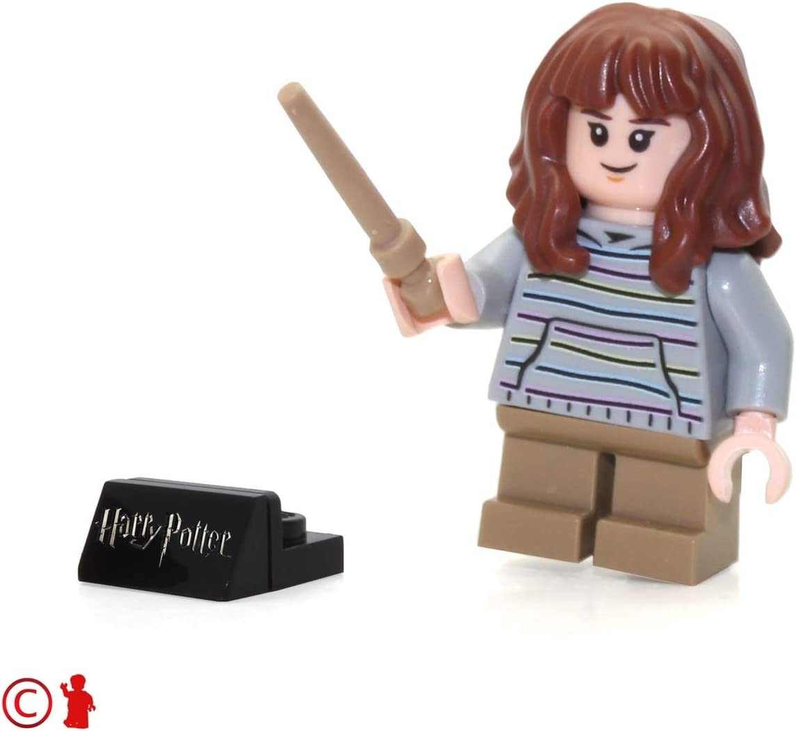 LEGO 2018 Harry Potter Minifigure - Hermione Granger (with Wand and Display Stand) 75955