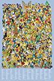 Simpsons-Cast Names Poster 24 x 36in