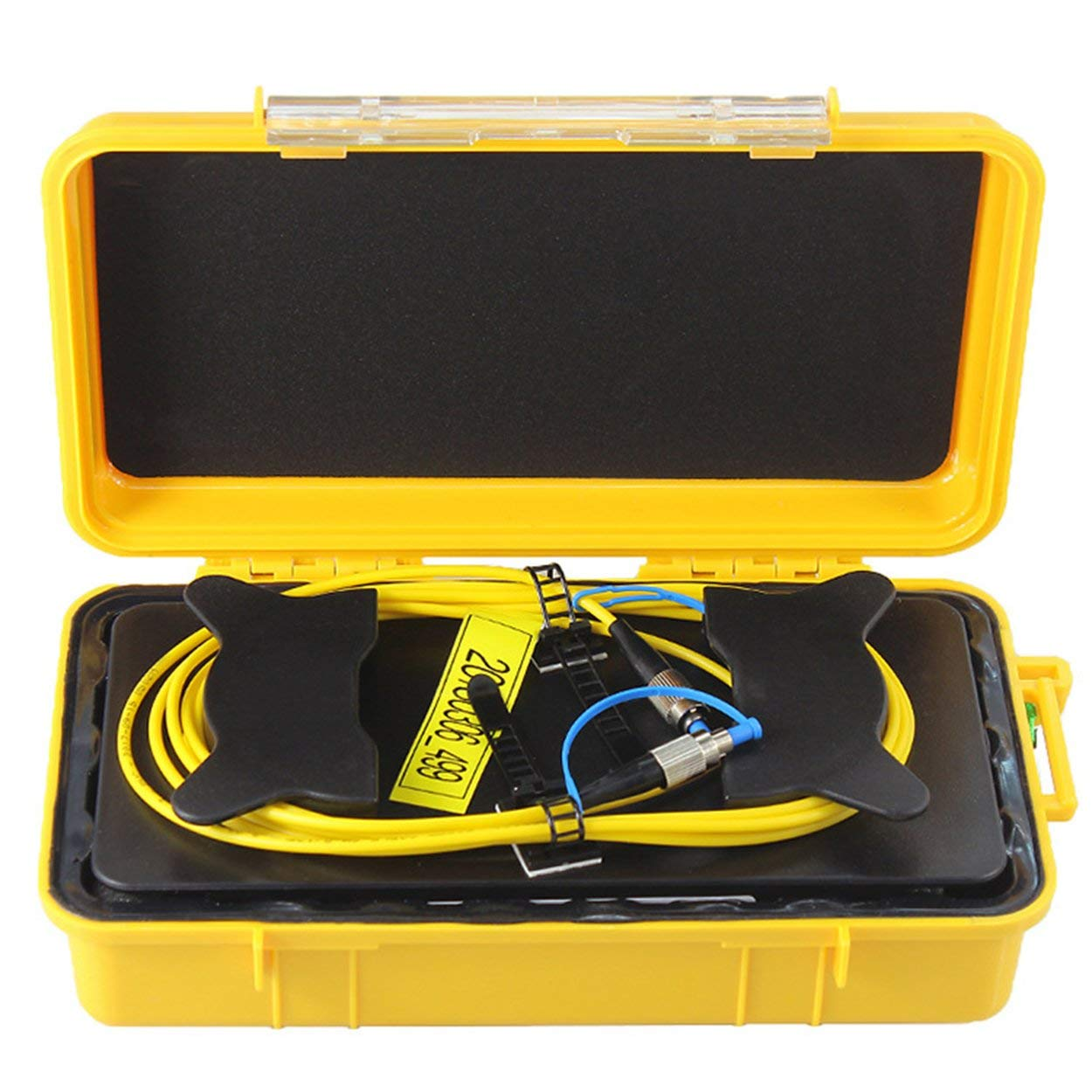 Lorenlli Fit FC/UPC-FC/UPC Professional Single Mode 2000M OTDR Launch Cable Box Fiber Ring OTDR Launch Fiber Optic Cable