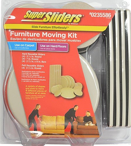 Super Sliders - Furniture Moving Kit by Fix Find