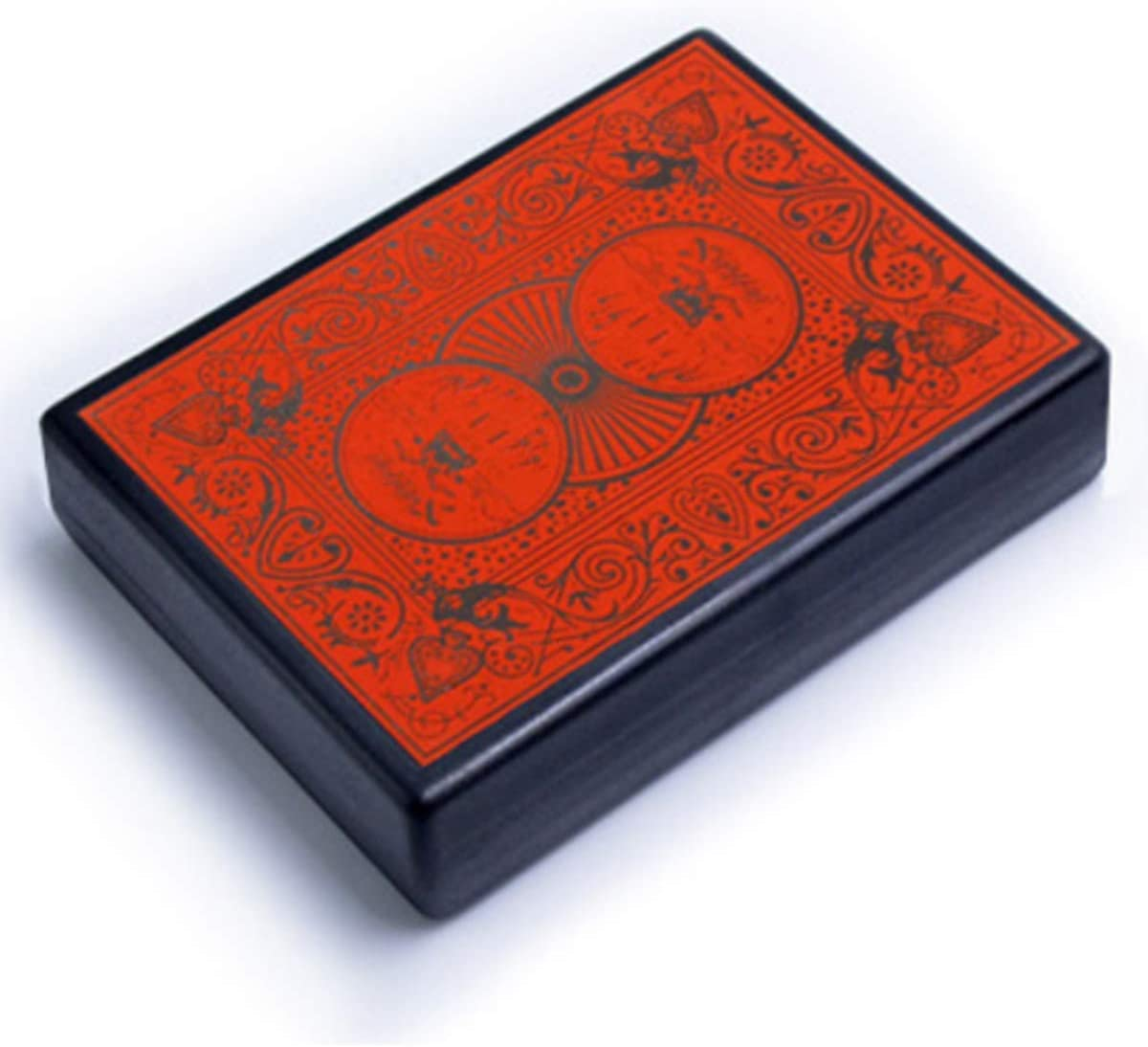 WSNMING Professional Torn Playing Card Restore Case Magic Tricks Box Close up Magic Props with Video Tutorial for Adults