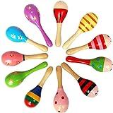 JUNGEN Martillo de Arena de Madera Niños Musical Educativo de Juguete para Bebé de Más de 6 Meses Color Aleatorio Size 12cm