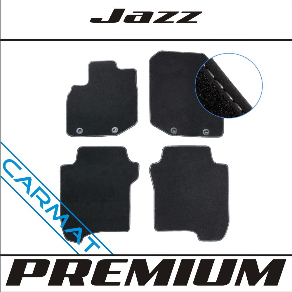 Honda Jazz III Bj 2008-2014 Premium Fussmatten Autoteppiche