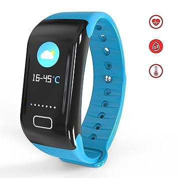 BTwear Fitness Tracker, C5 Actividad Tracker con frecuencia ...
