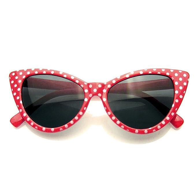 Damen Designer Lesebrille + Tasche Polka Dot, + 1,50