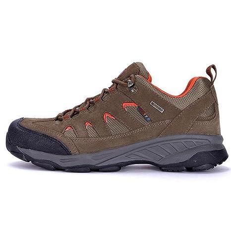 Scarpe da trekking traspirante impermeabile Uomo / Donna scarpe da trekking estive e autunnali resistenti e non antiscivolo , gray , 38