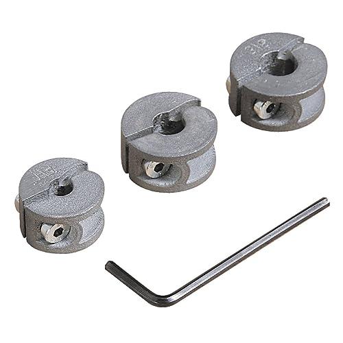 3-16 mm Juego de 8 topes de profundidad para broca de madera con llave