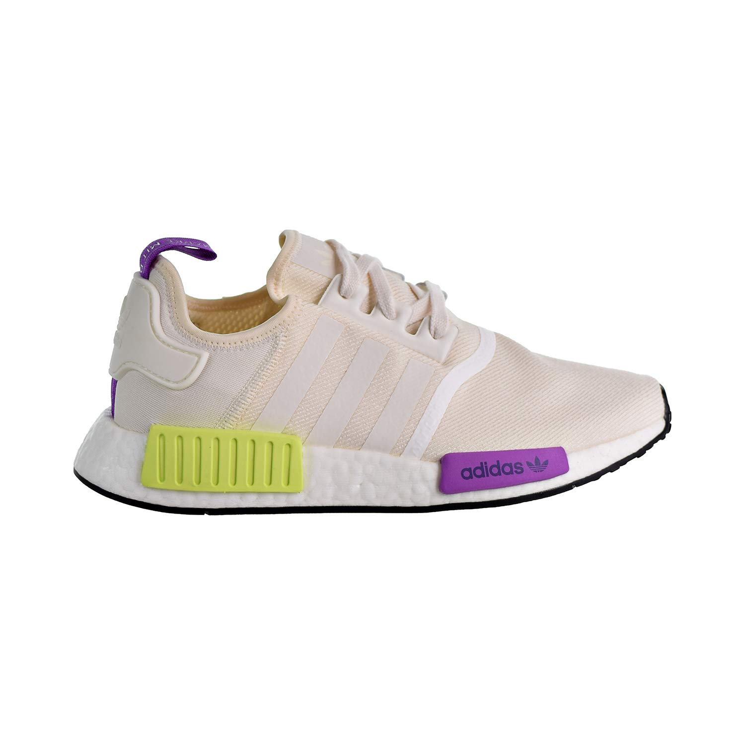 adidas Originals Men's NMD_R1 Chalk WhiteChalk WhiteSemi Solar Yellow 11 D US
