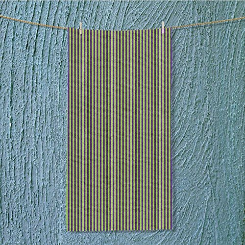 - SeptSonne camping microfiber towel Pop Arts Style B Stripes Rooms Wallpaper Royal Blue and Lime Green for Maximum Softness W11.8 x H27.5 INCH