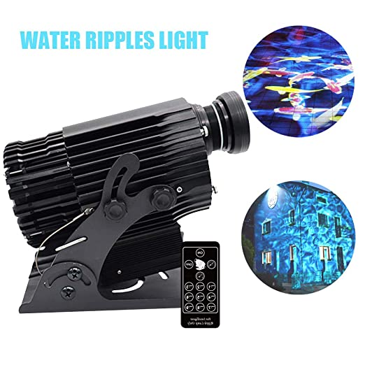 AMAZOIN LED Agua Ondulaciones Proyector de luz Estroboscópico ...