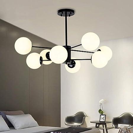 Amazon.com: PLLP Lámpara de techo para sala de estar ...
