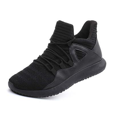 507de93813950 Men's Casual Walking Shoes Breathable Sneakers Black Label Size 37 - US 6  Women/5
