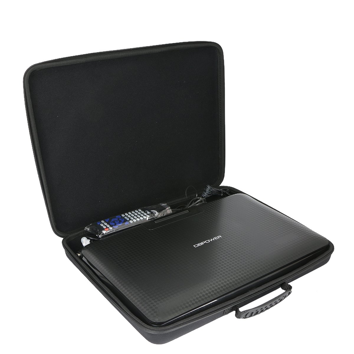 Hard Case for DBPOWER 14'' Portable DVD Player with Rechargeable Battery by Khanka