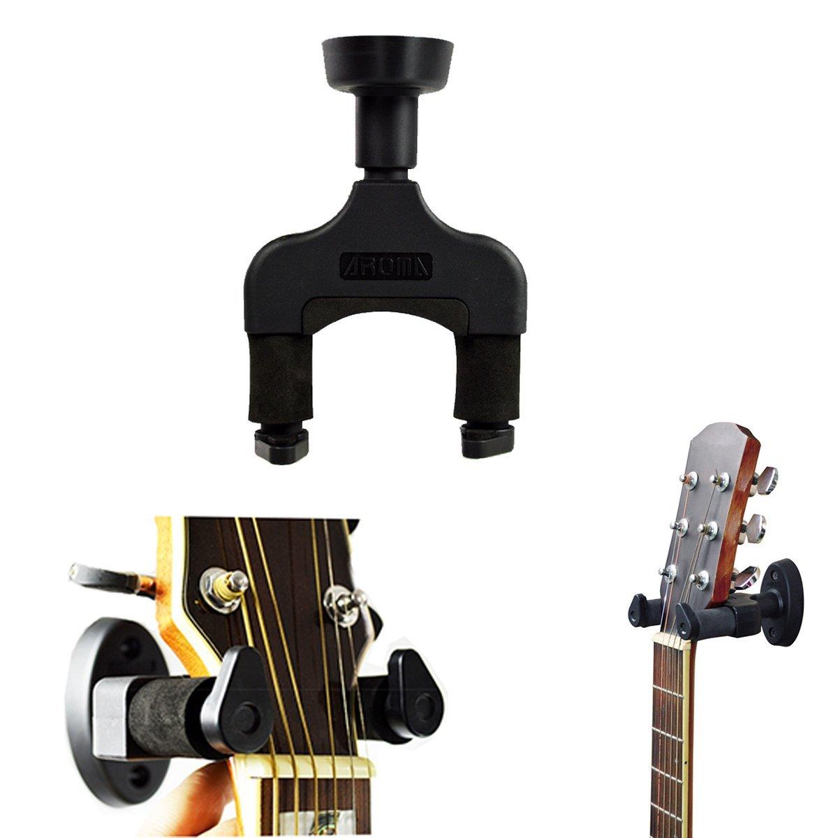Soporte de gancho para guitarra, de pared, compatible con todos los tamaños de guitarra acústica, de fácil instalación, de LC Prime: Amazon.es: Instrumentos ...