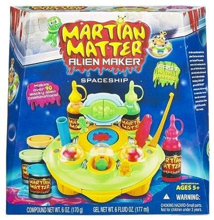 Amazon Martian Matter Alien Maker Playset Spaceship Toys Games