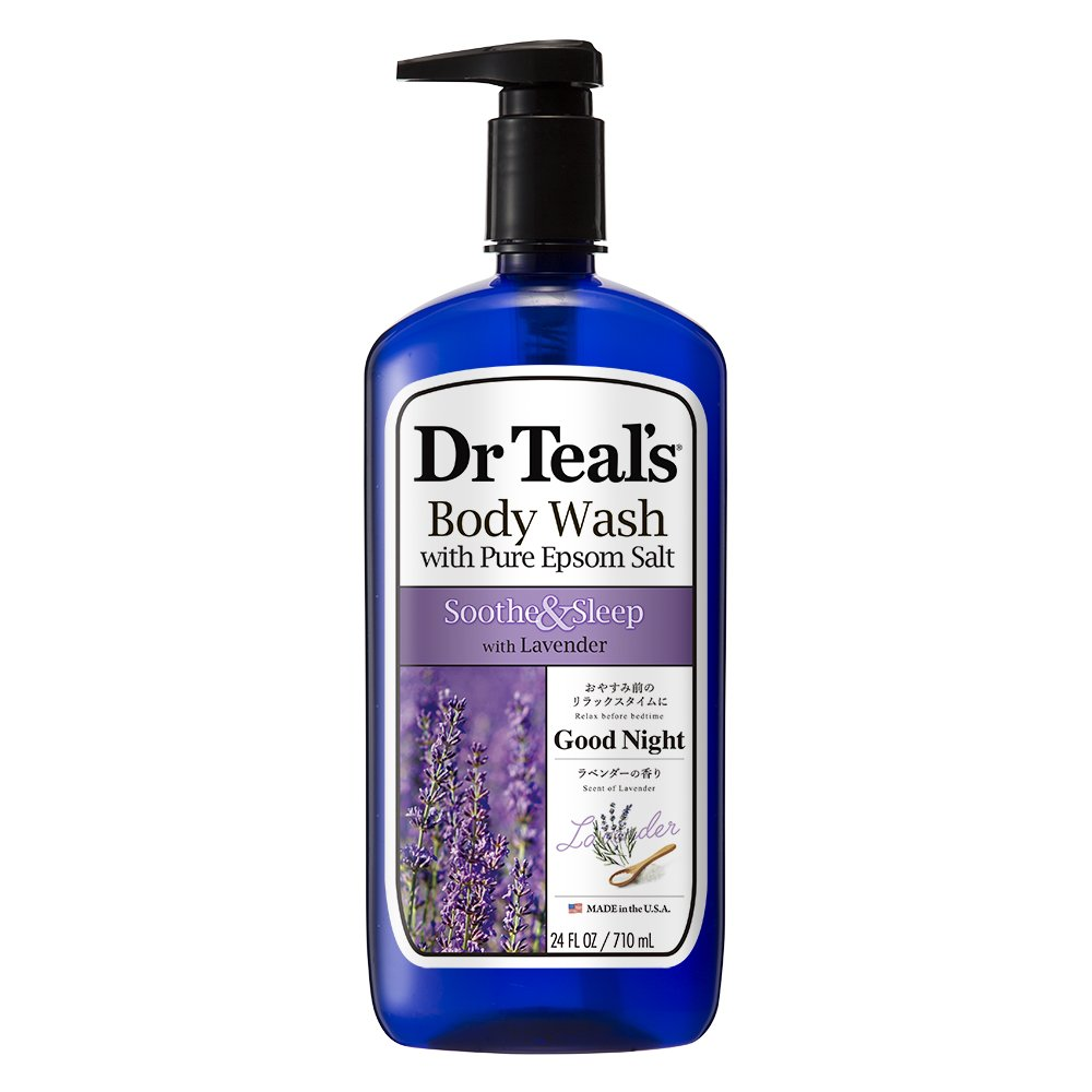 Dr Teal's Pure Epsom Salt Body Wash Soothe & Sleep with Lavender 710 ml 04158-4PA