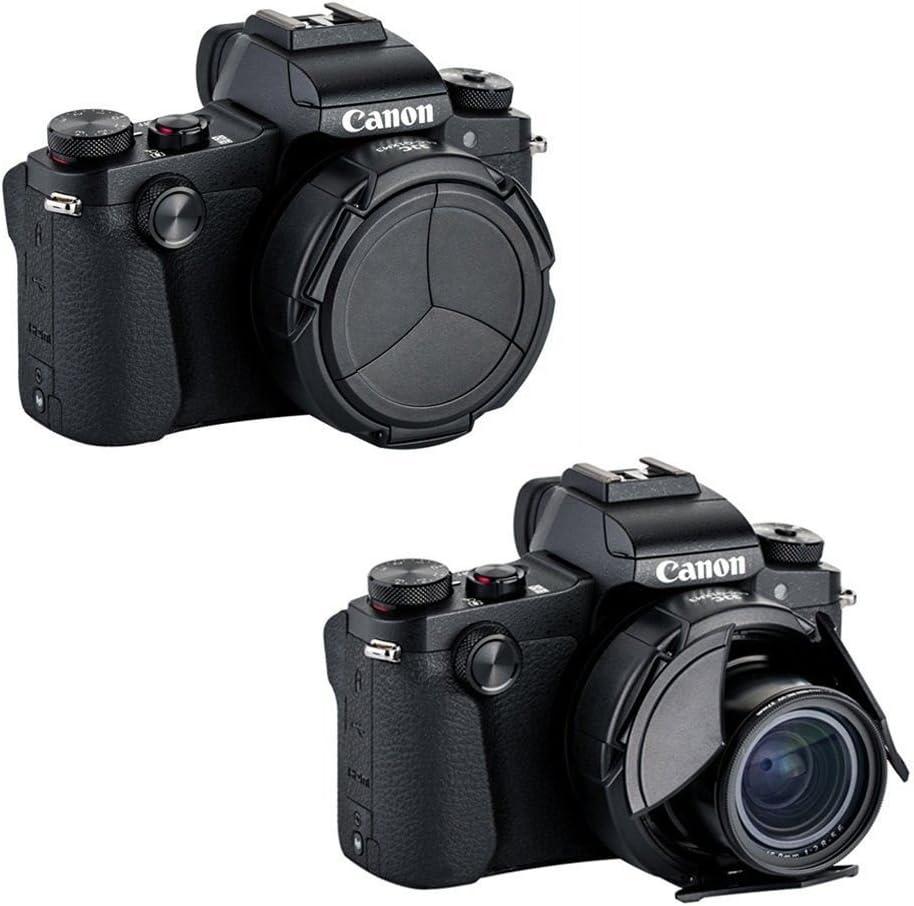 G1X M3 JJC ALC-G1XM3 Objektivdeckel f/ür Canon PowerShot G1X Mark III Schwarz