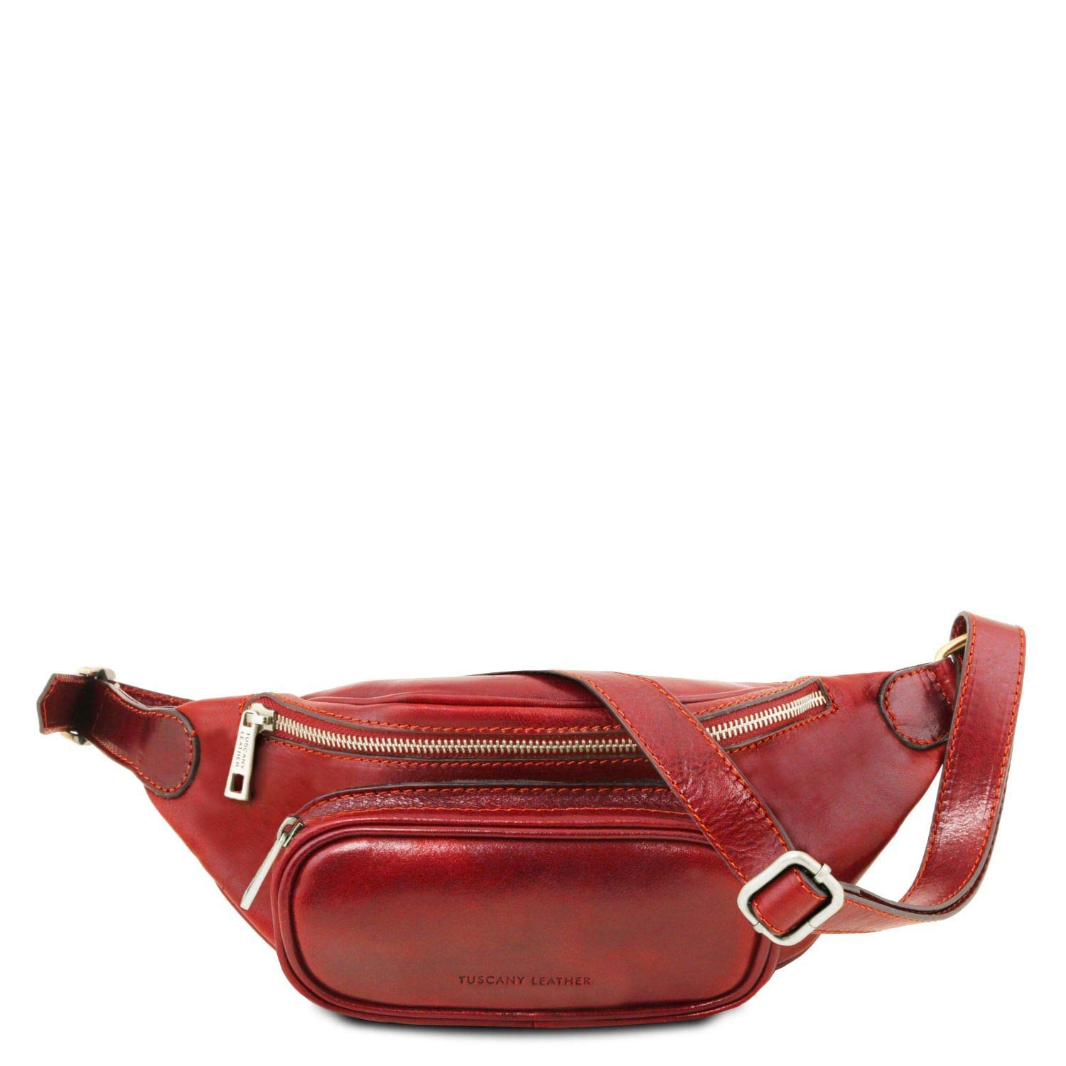 Tuscany Leather Leather fanny pack Red