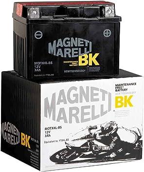 Oferta amazon: MAGNETI MARELLI - MOTX9-BS/395 : Bateria moto sin mantenimiento YTX9-BS