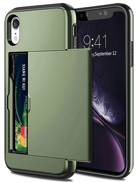 Amazon.com: Samsung - Funda híbrida para iPhone XR y XR con ...