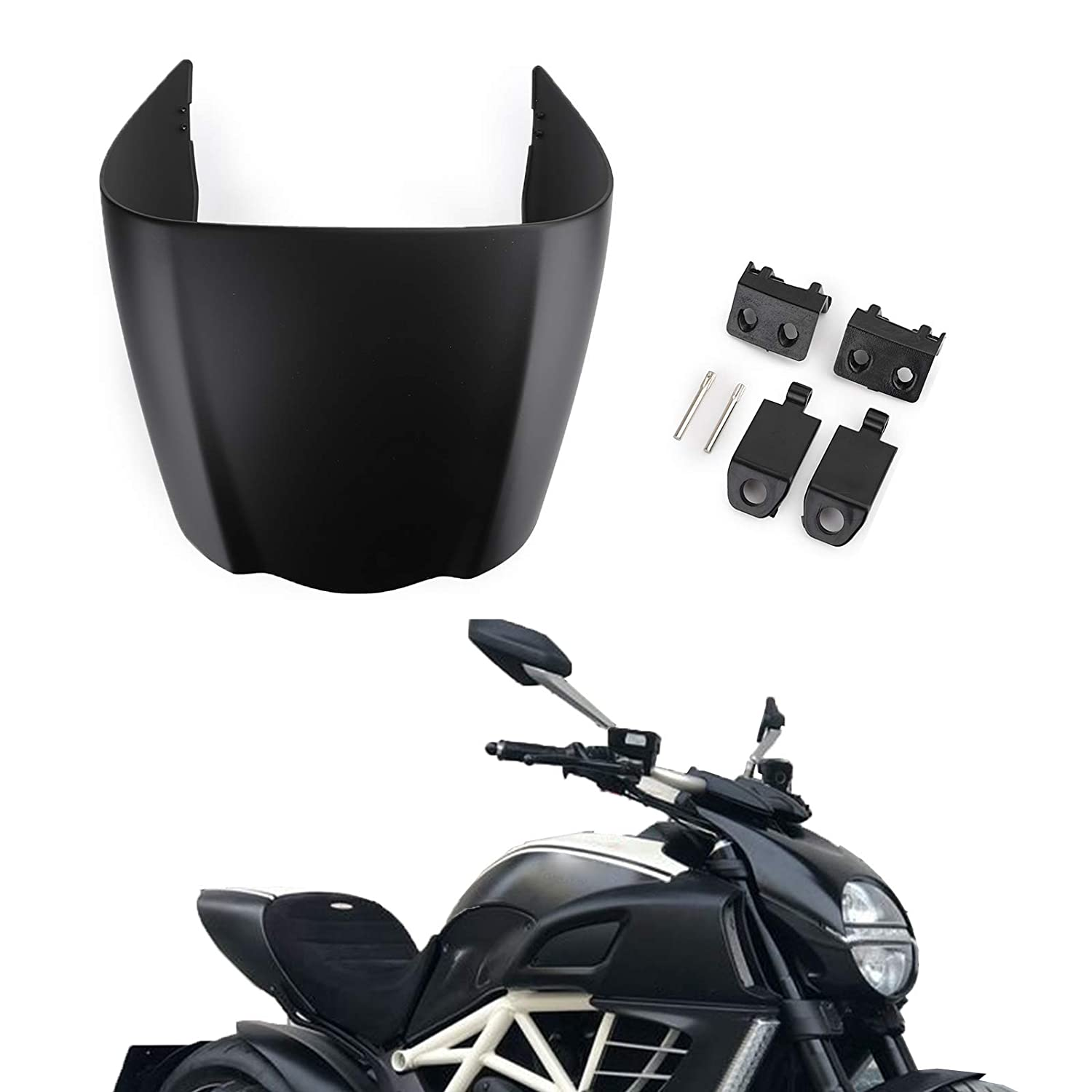 Areyourshop Rear Seat Solo Cowl Fairing Cover for DUCATI 2011-2013 DIAVEL 1200