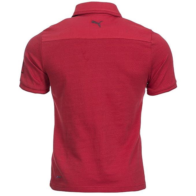 Puma Bmw M de Polo Camiseta Hombre 561531 - 02 Rojo rojo Talla ...